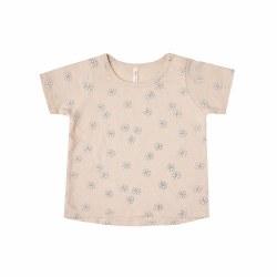 Daisy Confetti Tee Shell 0-3M