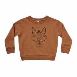 Fox Sweatshirt Cinn 3-6M