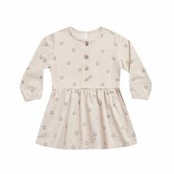 Horseshoe Button Dress 18-24M