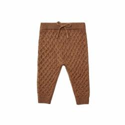 Knit Gable Pant Rust 12-18M