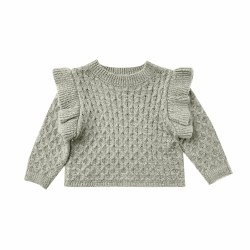 La Reina Sweater Agave 18-24M