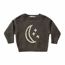 Moon Embroidered Cassidy Sweater 4/5