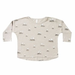Mountains LS Pouch Tee 0-3M