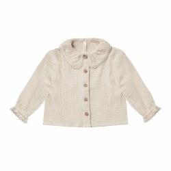 Oversize Collar Blouse 2/3