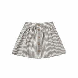 Railroad Button Mini Skirt 4/5
