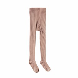Ribbed Tights Truffle 3-5Y