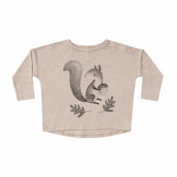 Squirrel LS Tee 0-3M