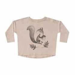 Squirrel LS Tee 6-12M
