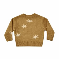 Stars Sweater Golden 18-24M
