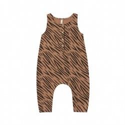 Tiger Jumpsuit Bronze 0-3M