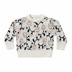 Vintage Rose Pullover 6/7