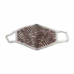 Adult Face Mask Zebra
