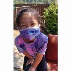 Kid's Face Mask Unicorn 4-6Y