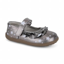 Belle II MJ Pewter Metallic 8