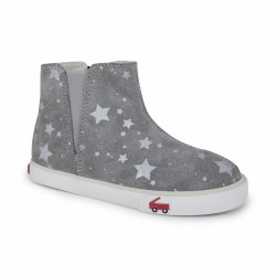Keegan Boot Gray Suede Star 6
