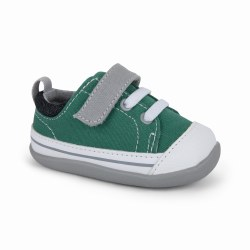 Stevie II Sneaker Green/Gray 5