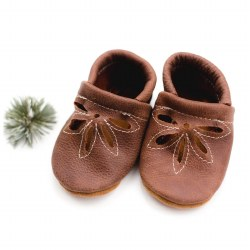 Daisy Baby Shoes Rust 6-9M
