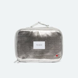 Rodgers Lunch Box- Metallic Silver