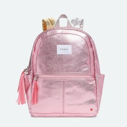 Kane Backpack Metallic Pink/Silver