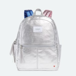 Kane Backpack Metallic Silver Multi
