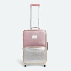 Logan Suitcase Pink Mullti