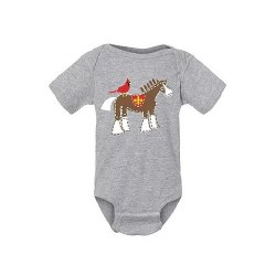 Cardinal Clydesdale Onesie 3-6M