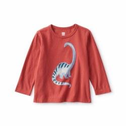 Baby Dino LS Tee 3-6M