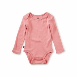 Basically Bodysuit Mauve 9-12M