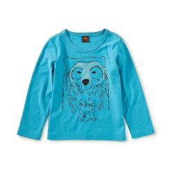 Bear All LS Baby Tee 6-9M