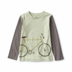 Bike Block Sleeve LS Tee 3