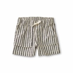 Camp Shorts Black Stripe 4
