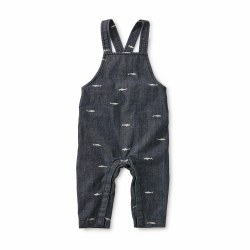 Chambray Overall Sharks 9-12M