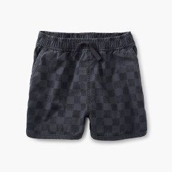 Checker Dolphin Short-Coal 12