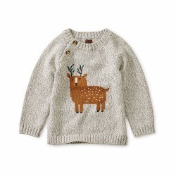 Deer Baby Sweater 6-9M