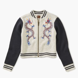 Double Dragon Zip Cardi L/8-10
