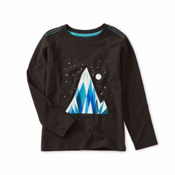 Everest Glow LS Tee Black 7