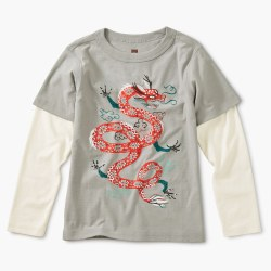 Fire Dragon Layer Tee 2