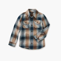 Flannel Plaid Shirt-Summit 8