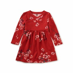 Floral WN Baby Dress 6-9M