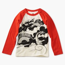 Folk Dragon LS Raglan Tee 8