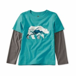 Glow Bear Layered Tee 2