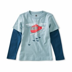 Helicopter Herd Layer Tee 2