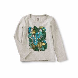 Incan Animal LS Baby Tee 9-12M