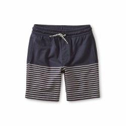 Knit Beach Shorts Indigo 7