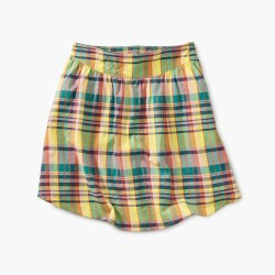 Madras Shirttail Skirt 7