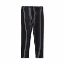 Metallic Stripe Leg Black 2
