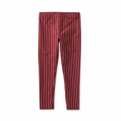 Metallic Stripe Leg Sangria 2