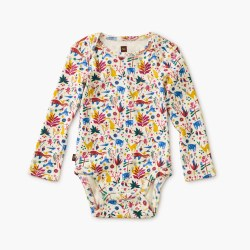 Mountain Menagerie LS Bdyst 3-6M