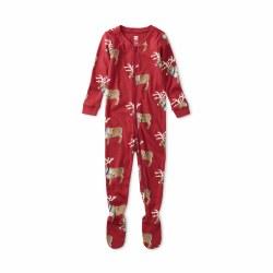 Night Baby PJ Reindeer 3-6M