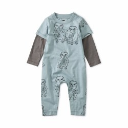 Owl Play Layer Pckt Romp 6-9M